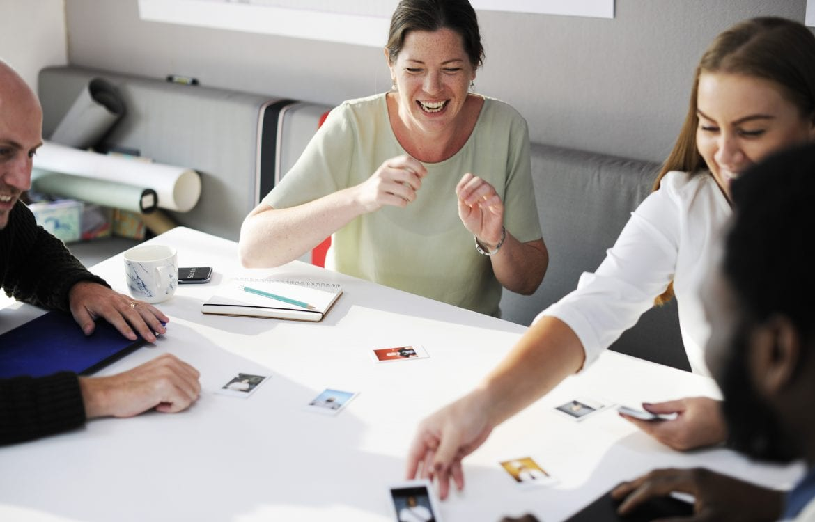 Woman Laughing: Finding and Training Great Employees