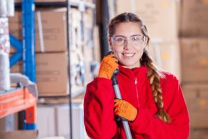 Woman with Tool: Business Differentiation