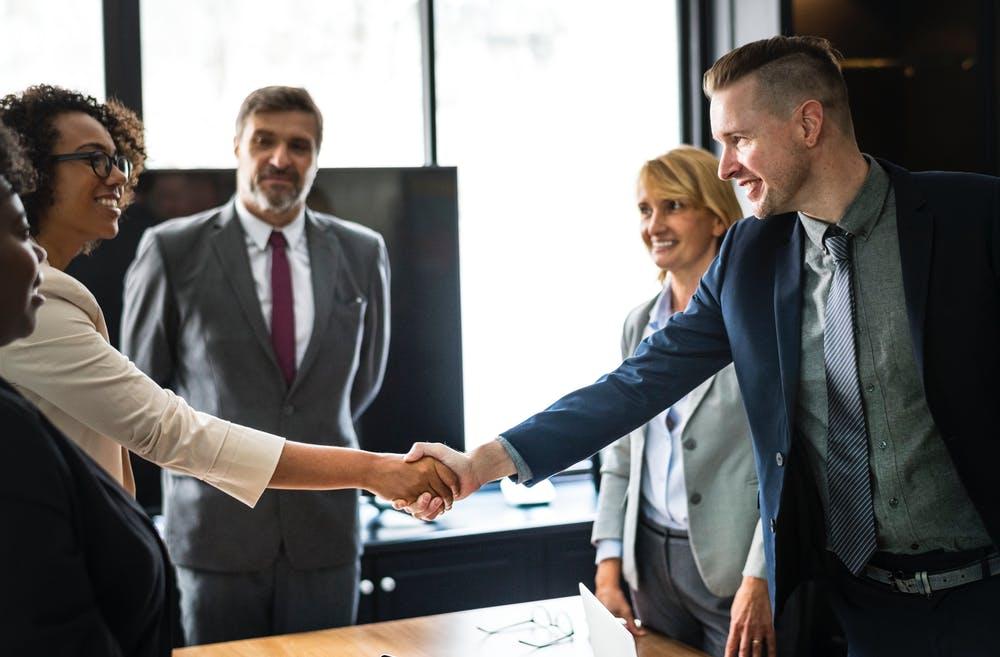 Business Handshake: Getting Referrals