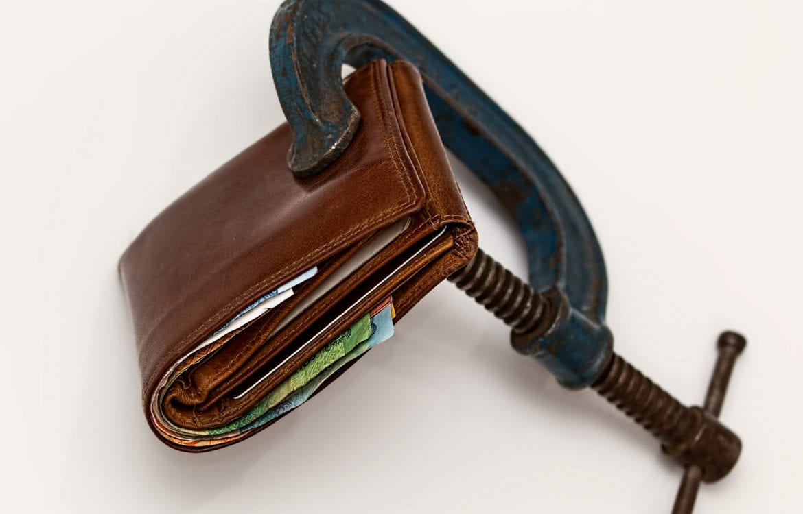 Wallet With Vice Grip: Cash Gap Plan