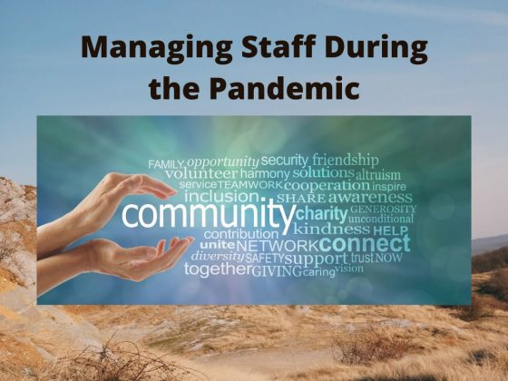 managing staff during the pandemic