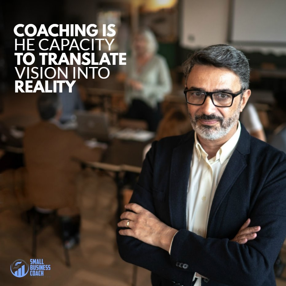 business coaching vision into reality
