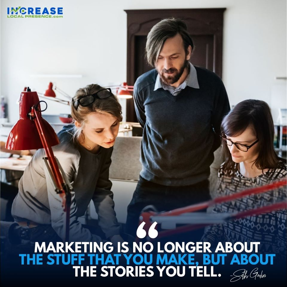 marketing the stories you tell