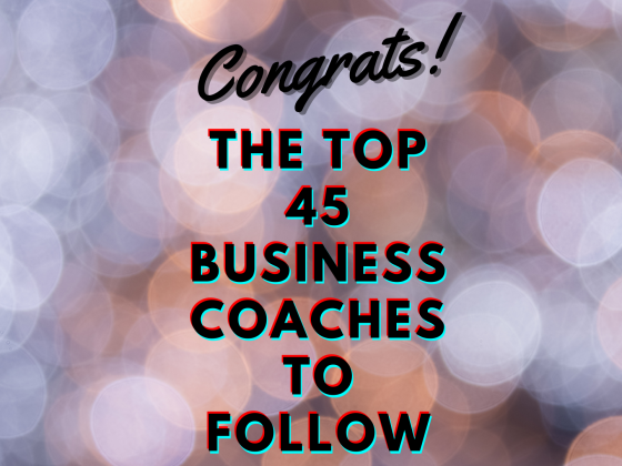 The 45 Best Business Coaches to Follow