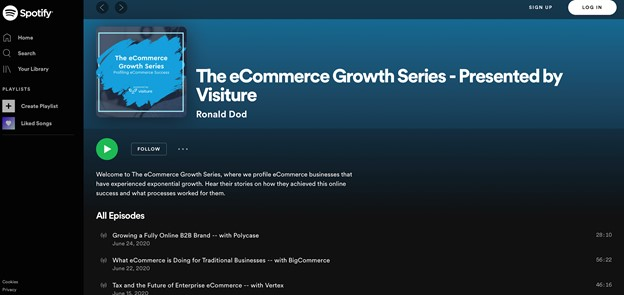 ecommerce growth podcasts