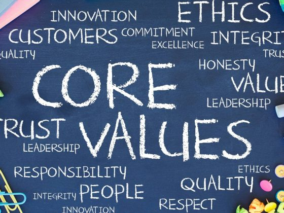 list of core values